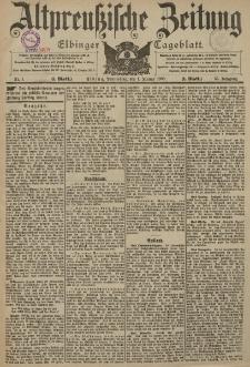 Altpreussische Zeitung, Nr. 1 Donnerstag 1 Januar 1903, 55. Jahrgang