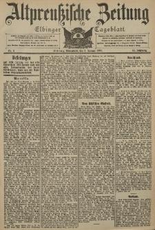 Altpreussische Zeitung, Nr. 2 Sonnabend 3 Januar 1903, 55. Jahrgang