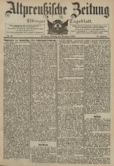 Altpreussische Zeitung, Nr. 10 Dienstag 13 Januar 1903, 55. Jahrgang