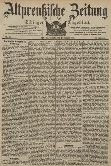 Altpreussische Zeitung, Nr. 16 Dienstag 20 Januar 1903, 55. Jahrgang