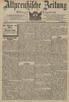 Altpreussische Zeitung, Nr. 25 Freitag 30 Januar 1903, 55. Jahrgang