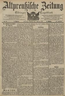 Altpreussische Zeitung, Nr. 27 Sonntag 1 Februar 1903, 55. Jahrgang