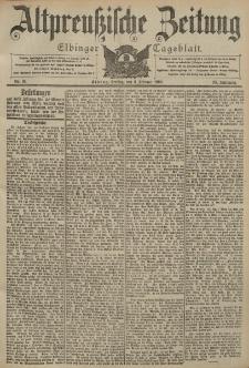 Altpreussische Zeitung, Nr. 31 Freitag 6 Februar 1903, 55. Jahrgang