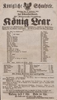 """Pozycja nr 33 z kolekcji Henryka Nitschmanna : """"König Lear"""""""