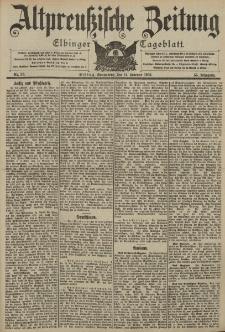 Altpreussische Zeitung, Nr. 38 Sonnabend 14 Februar 1903, 55. Jahrgang