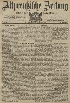 Altpreussische Zeitung, Nr. 43 Freitag 20 Februar 1903, 55. Jahrgang