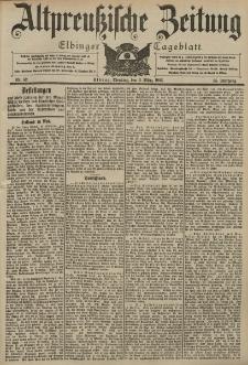 Altpreussische Zeitung, Nr. 52 Dienstag 3 März 1903, 55. Jahrgang