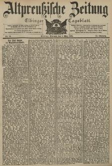 Altpreussische Zeitung, Nr. 53 Mittwoch 4 März 1903, 55. Jahrgang