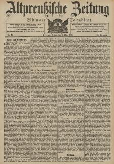 Altpreussische Zeitung, Nr. 55 Freitag 6 März 1903, 55. Jahrgang