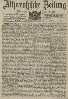 Altpreussische Zeitung, Nr. 57 Sonntag 8 März 1903, 55. Jahrgang