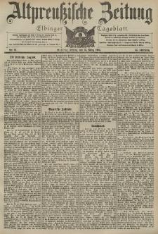 Altpreussische Zeitung, Nr. 61 Freitag 13 März 1903, 55. Jahrgang