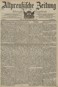 Altpreussische Zeitung, Nr. 65 Mittwoch 18 März 1903, 55. Jahrgang