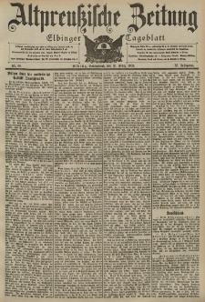 Altpreussische Zeitung, Nr. 68 Sonnabend 21 März 1903, 55. Jahrgang