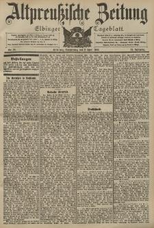 Altpreussische Zeitung, Nr. 78 Donnerstag 2 April 1903, 55. Jahrgang