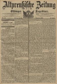 Altpreussische Zeitung, Nr. 205 Dienstag 1 September 1896, 48. Jahrgang