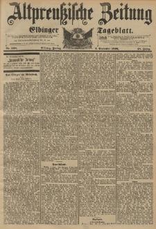 Altpreussische Zeitung, Nr. 208 Freitag 4 September 1896, 48. Jahrgang