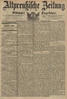 Altpreussische Zeitung, Nr. 209 Sonnabend 5 September 1896, 48. Jahrgang