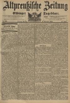Altpreussische Zeitung, Nr. 210 Sonntag 6 September 1896, 48. Jahrgang