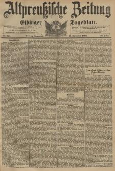 Altpreussische Zeitung, Nr. 215 Sonnabend 12 September 1896, 48. Jahrgang