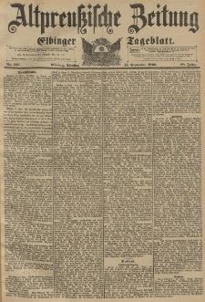 Altpreussische Zeitung, Nr. 217 Dienstag 15 September 1896, 48. Jahrgang