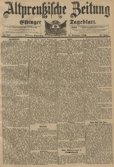 Altpreussische Zeitung, Nr. 219 Donnerstag 17 September 1896, 48. Jahrgang