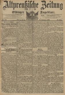 Altpreussische Zeitung, Nr. 226 Freitag 25 September 1896, 48. Jahrgang
