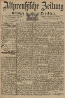 Altpreussische Zeitung, Nr. 227 Sonnabend 26 September 1896, 48. Jahrgang