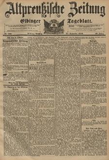 Altpreussische Zeitung, Nr. 229 Dienstag 29 September 1896, 48. Jahrgang