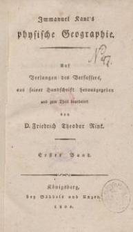 Physische Geographie (Bd. 1-2)