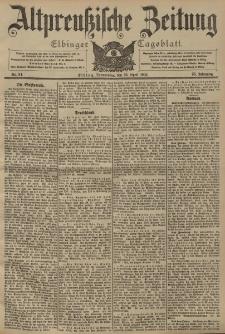 Altpreussische Zeitung, Nr. 94 Donnerstag 23 April 1903, 55. Jahrgang