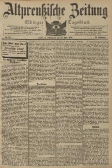 Altpreussische Zeitung, Nr. 96 Sonnabend 25 April 1903, 55. Jahrgang