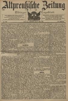 Altpreussische Zeitung, Nr. 102 Sonnabend 2 Mai 1903, 55. Jahrgang