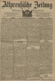 Altpreussische Zeitung, Nr. 103 Sonntag 3 Mai 1903, 55. Jahrgang