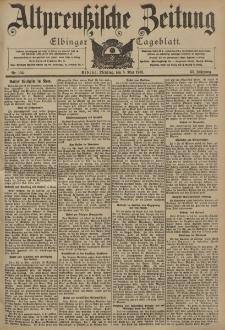 Altpreussische Zeitung, Nr. 104 Dienstag 5 Mai 1903, 55. Jahrgang