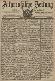 Altpreussische Zeitung, Nr. 105 Mittwoch 6 Mai 1903, 55. Jahrgang