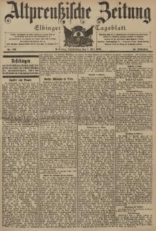 Altpreussische Zeitung, Nr. 106 Donnerstag 7 Mai 1903, 55. Jahrgang