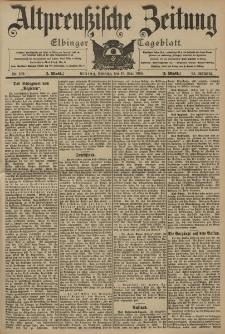 Altpreussische Zeitung, Nr. 109 Sonntag 10 Mai 1903, 55. Jahrgang