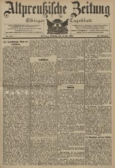Altpreussische Zeitung, Nr. 110 Dienstag 12 Mai 1903, 55. Jahrgang