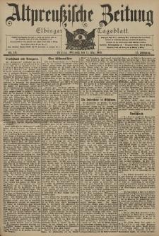 Altpreussische Zeitung, Nr. 111 Mittwoch 13 Mai 1903, 55. Jahrgang