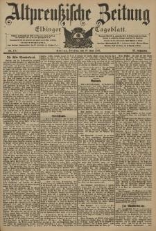 Altpreussische Zeitung, Nr. 116 Dienstag 19 Mai 1903, 55. Jahrgang