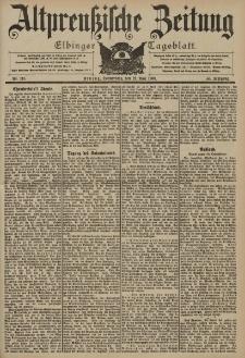 Altpreussische Zeitung, Nr. 118 Donnerstag 21 Mai 1903, 55. Jahrgang