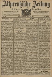 Altpreussische Zeitung, Nr. 119 Sonnabend 23 Mai 1903, 55. Jahrgang