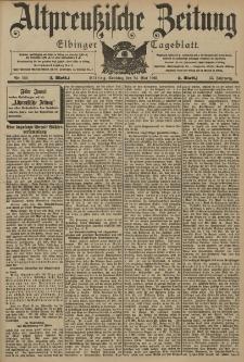 Altpreussische Zeitung, Nr. 120 Sonntag 24 Mai 1903, 55. Jahrgang