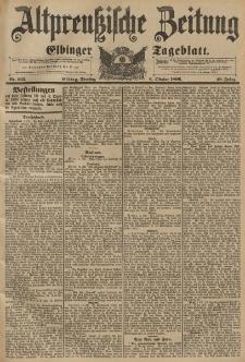 Altpreussische Zeitung, Nr. 235 Dienstag 6 Oktober 1896, 48. Jahrgang
