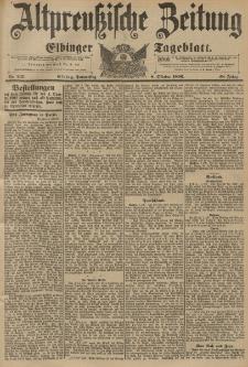 Altpreussische Zeitung, Nr. 237 Donnerstag 8 Oktober 1896, 48. Jahrgang
