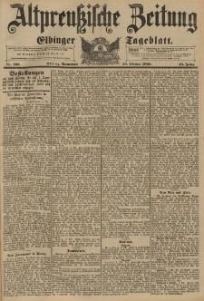 Altpreussische Zeitung, Nr. 239 Sonnabend 10 Oktober 1896, 48. Jahrgang