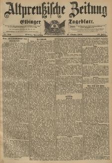 Altpreussische Zeitung, Nr. 243 Donnerstag 15 Oktober 1896, 48. Jahrgang