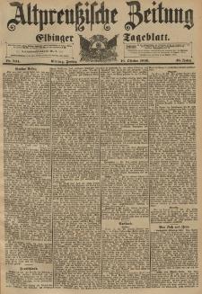 Altpreussische Zeitung, Nr. 244 Freitag 16 Oktober 1896, 48. Jahrgang