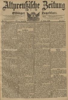 Altpreussische Zeitung, Nr. 245 Sonnabend 17 Oktober 1896, 48. Jahrgang