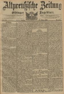 Altpreussische Zeitung, Nr. 246 Sonntag 18 Oktober 1896, 48. Jahrgang